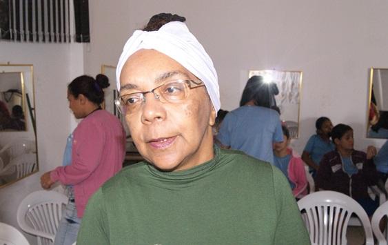 Ana José Alves, presidente do Coletivo de Mulheres Negras do MS
