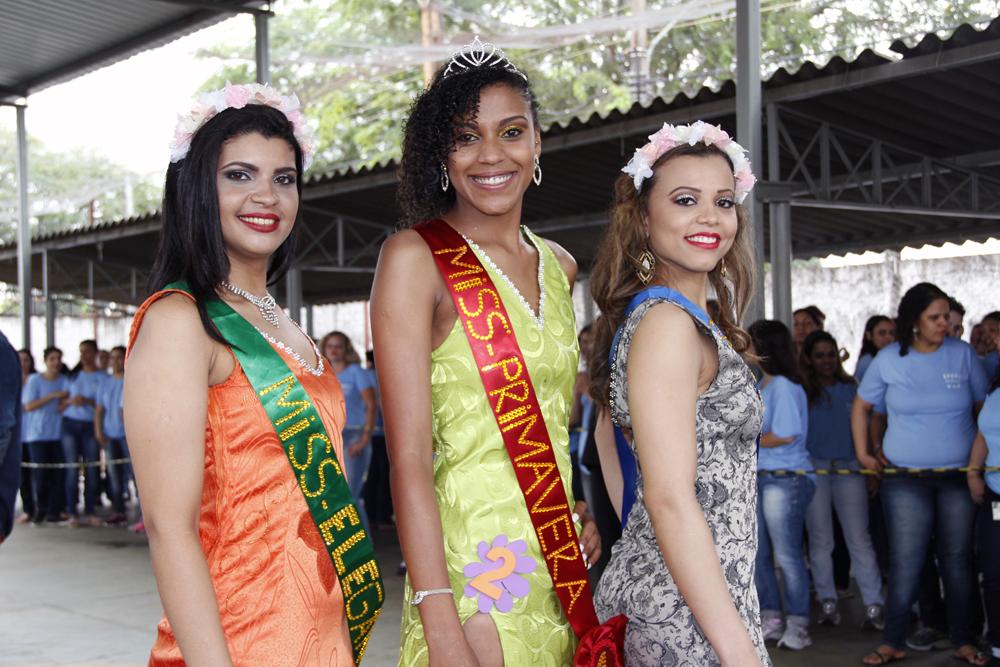 Vencedoras Miss Primavera EPFIIZ 2015