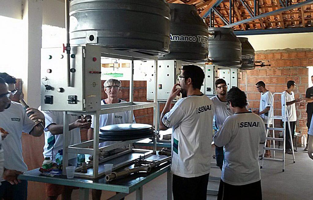 detentos aprendem profissão de encanador em Coxim1