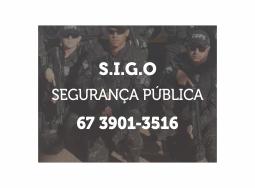 SIGO. Segurança Pública. Telefone 67 3901 3516